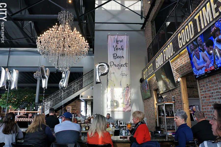 The scene at New York Beer Project in Victor. - PHOTO BY GINO FANELLI