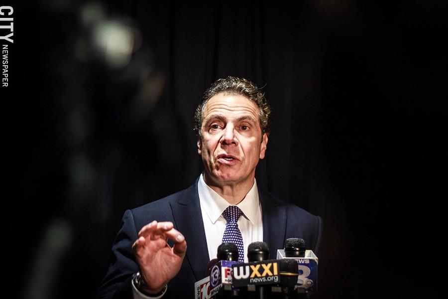 Governor Andrew Cuomo - FILE PHOTO
