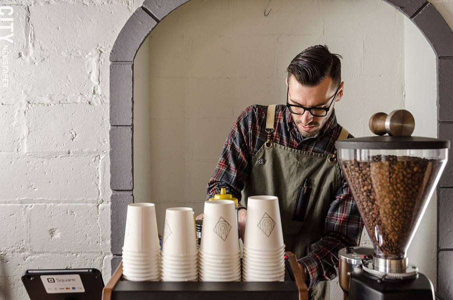 Ugly Duck Coffee owners Rory Van Grol (pictured) and Cris Van Grol are now offering the shop's eight employees paid sick days. - FILE PHOTO
