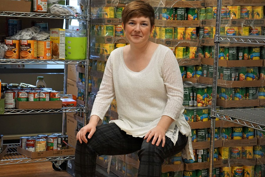 The South Wedge Food Program has lost about half its volunteers and experienced a 60 percent increase in demand, said the Rev. Katie Jo Suddaby, the pantry's director. - PHOTO BY GINO FANELLI