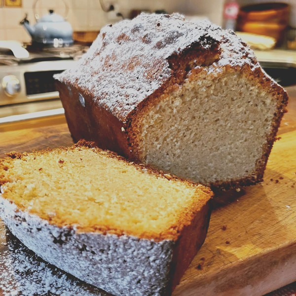 Olive oil cake, with its subtle burst of citrus notes, is basic, simple, and great with coffee. - PHOTO BY J. NEVADOMSKI