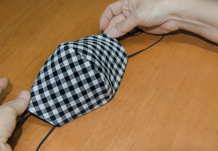 A homemade cloth mask. - FILE PHOTO