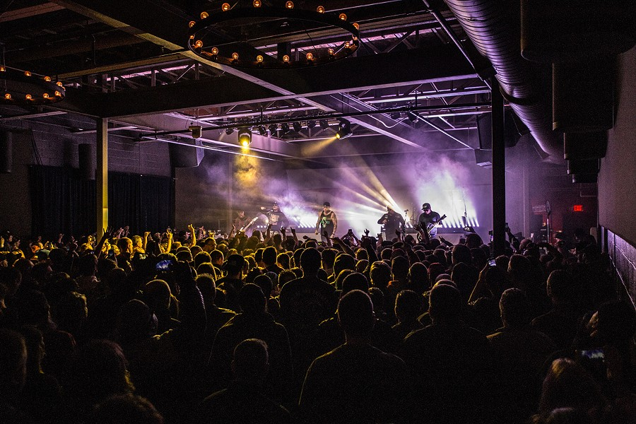 Hollywood Undead performs at Anthology. - PHOTO PROVIDED