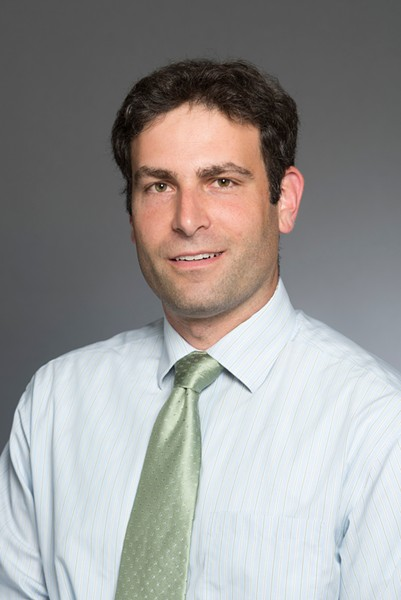 Matthew Hoffman, an assistant professor in Rochester Institute of Technology's School of Mathematical Sciences - PHOTO PROVIDED