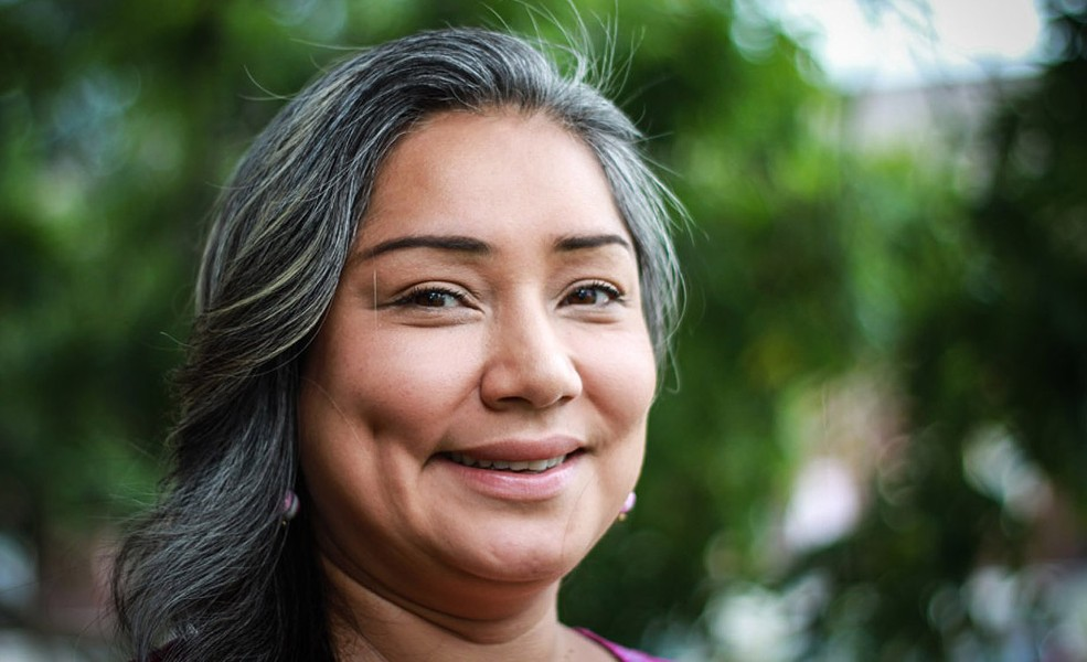 Newly-installed Democratic Elections Commissioner Jackie Ortiz - FILE PHOTO