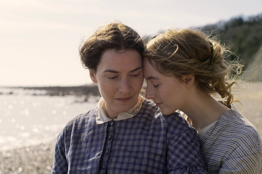 """Kate Winslet and Saoirse Ronan in """"Ammonite."""" - PHOTO PROVIDED"""