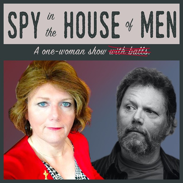 """Rochester's Penny Sterling performs """"A Spy in the House of Men."""" - PHOTO PROVIDED BY KEYBANK ROCHESTER FRINGE FESTIVAL"""