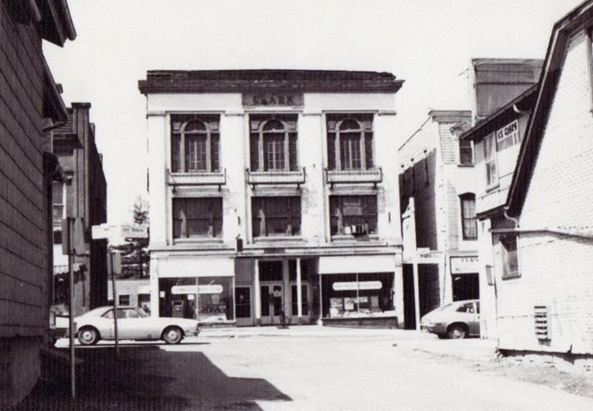 The former Clark Building on Main Street in Fairport circa 1970. - PHOTO PROVIDED