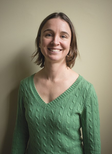 Abby McHugh-Grifa, executive director of the Climate Solutions Accelerator of the Genesee-Finger Lakes Region, formerly the Rochester People's Climate Coalition. - FILE PHOTO