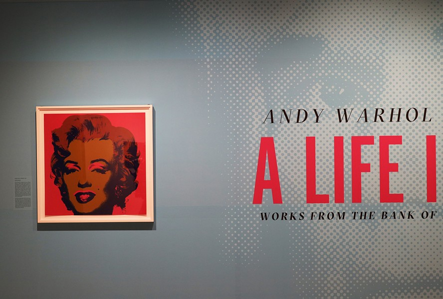 """Season of Warhol"" is on display at Rochester's Memorial Art Gallery through March. - PHOTO BY MAX SCHULTE"