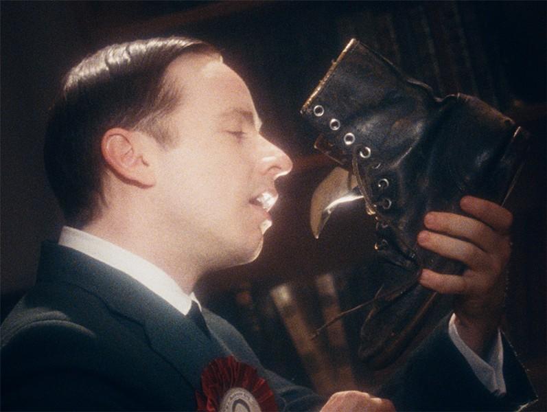 "Daniel Beirne as William Lyon Mackenzie King in ""The Twentieth Century."" - STILL PHOTO PROVIDED BY ANOMALY"