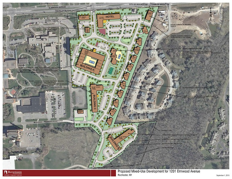 Map of the proposed project area - SUBMITTED BY MORGAN COMMUNITIES