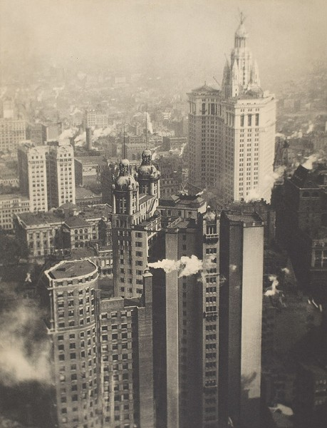 """New York from its Pinnacles"" is included in Eastman Museum's major retrospective of the work of Alvin Langdon Coburn, on view through January 24. - PHOTO PROVIDED"