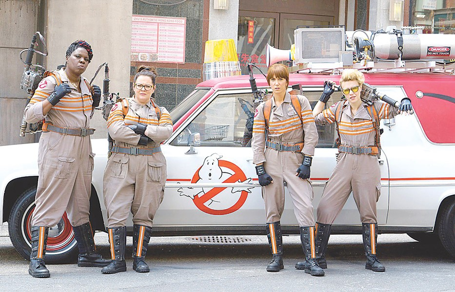 "The controversial new team lineup of ""Ghostbusters."" - PHOTO COURTESY SONY PICTURES"