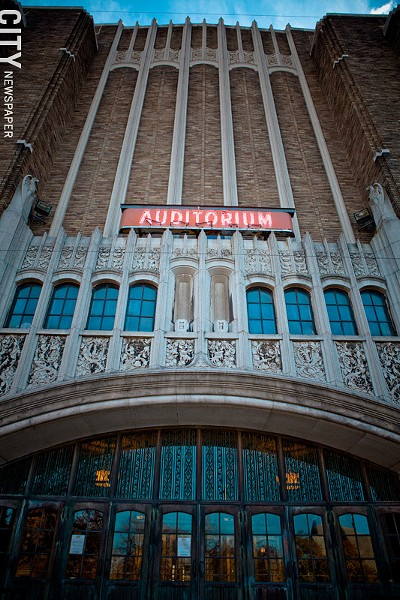 The Auditorium Theatre is no longer adequate and is costing Rochester top-tier shows, say RBTL officials. - FILE PHOTO