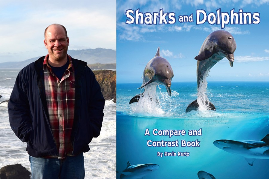 "Kevin Kurtz: ""Sharks and Dolphins"" - PHOTOS PROVIDED"