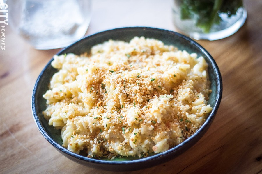 The Truffle Mac 'n' Cheese at Next Door Bar and Grill. - PHOTO BY KEVIN FULLER