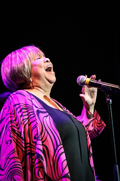 Mavis Staples headlined Wednesday night at XRIJF 2017. - PHOTO BY FRANK DE BLASE