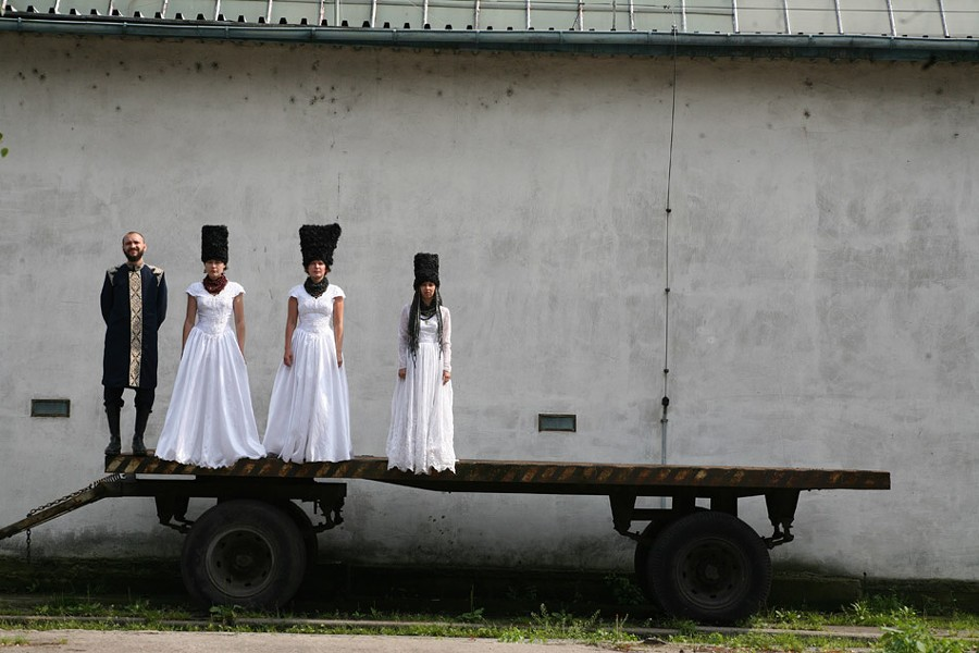 The Eastman School of Music has programmed a series of world music concerts for the 2017-18 season, including DakhaBrakha on November 20. - PHOTO BY TANYA VILCHYNSKA