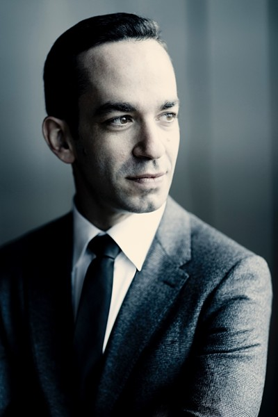 Pianist Inon Barnatan. - PHOTO BY MARCO BORGGREVE