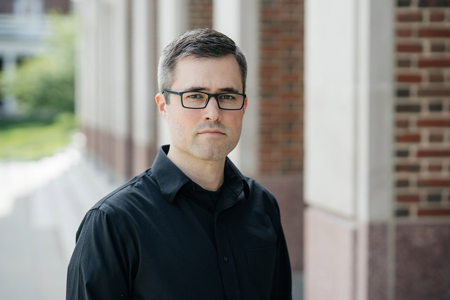 Mark Bray, a history lecturer at Dartmouth College, is the author of a new book that lays out the history of anti-fascism movements and also provide advice from activists for activists. - PROVIDED PHOTO