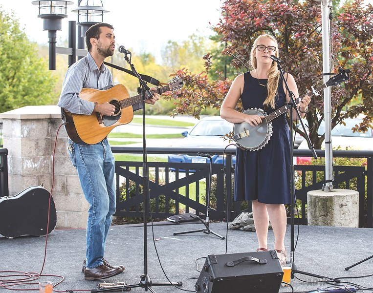 Chris and Cordelia Machanoff - PHOTO BY AARON WINTERS