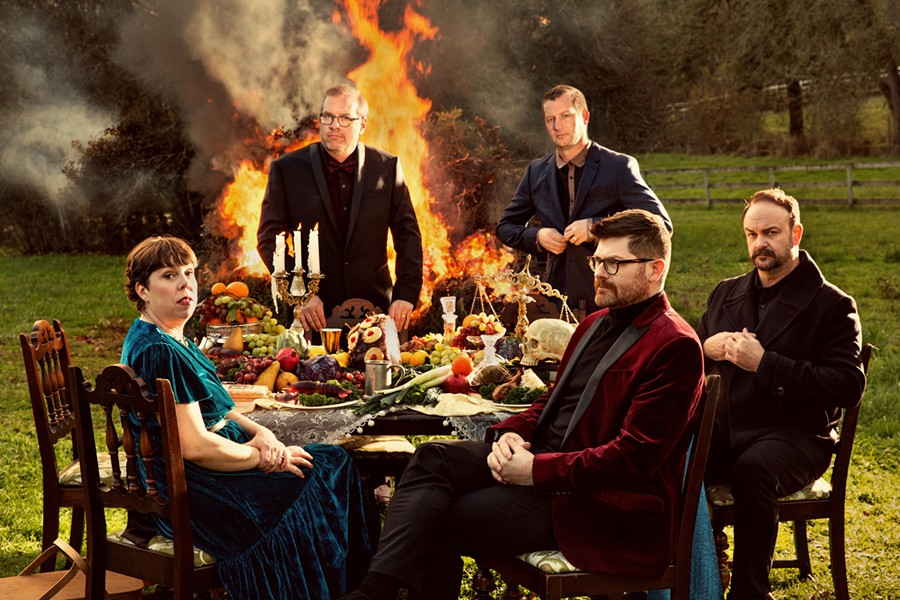 """The Decemberists released its eighth full-length album, """"I'll - Be Your Girl,"""" in March. The band is playing The Smith in Geneva on Monday. - PHOTO BY HOLLY ANDRES"""