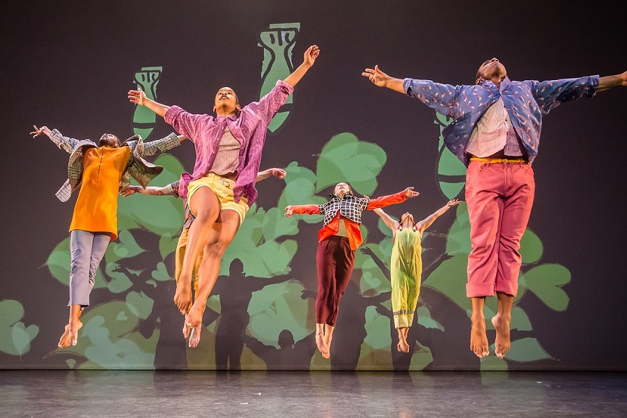 "David Dorfman Dance will perform ""Aroundtown"" Thursday, February 21, 2019. - PHOTO PROVIDED"