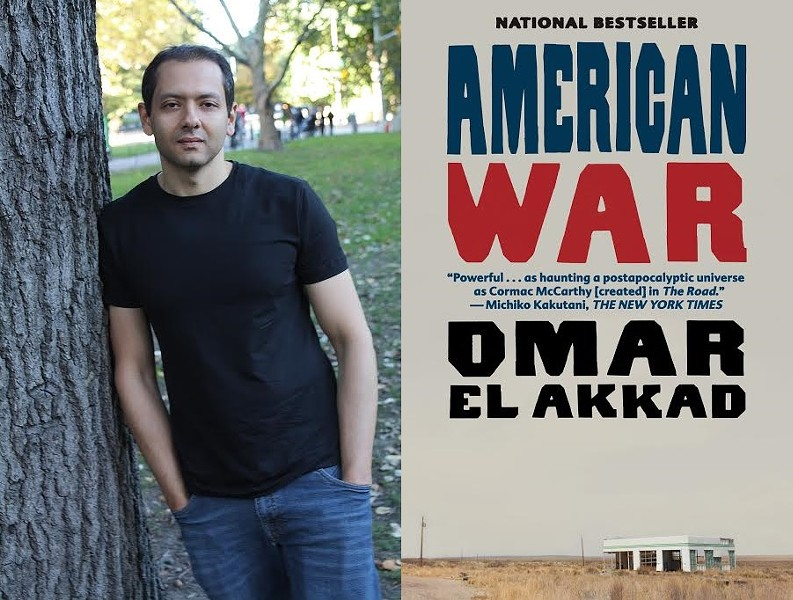"Omar El Akkad's ""American War"" is the 2019 selection for Writers & Books' Rochester Reads program. - PHOTOS PROVIDED"