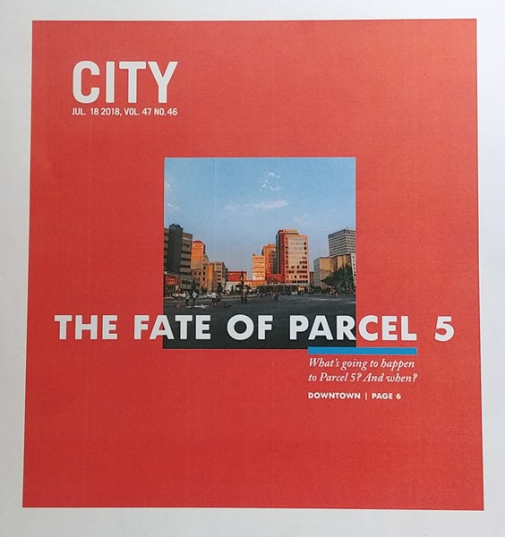A glimpse of CITY's July 18 cover, the first using the new page size.