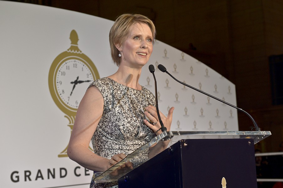 Actor and activist Cynthia Nixon - METROPOLITAN TRANSPORTATION AUTHORITY OF THE STATE OF NEW YORK