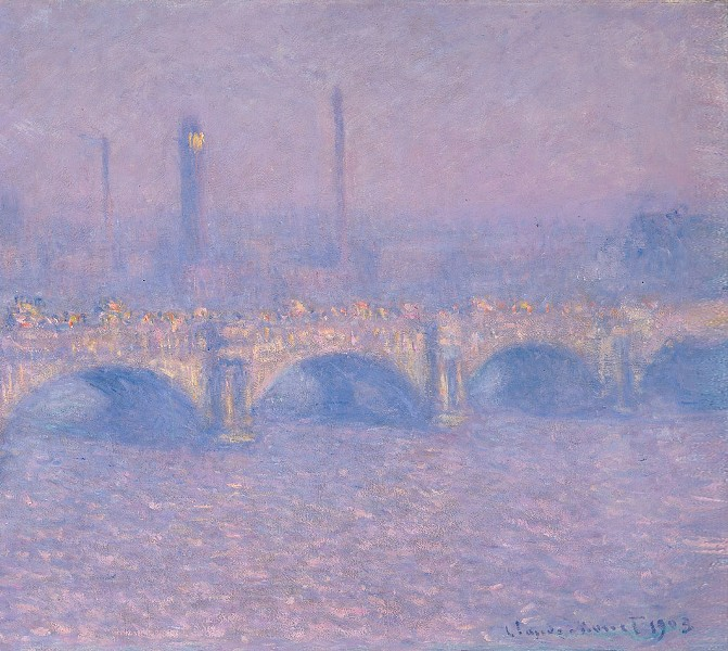 """Monet's Waterloo Bridge: Vision and Process"" at Memorial Art Gallery. - PHOTO PROVIDED"