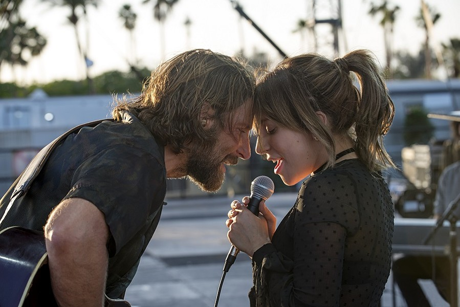 "Bradley Cooper and Lady Gaga in ""A Star is Born."" - PHOTO COURTESY WARNER BROS"