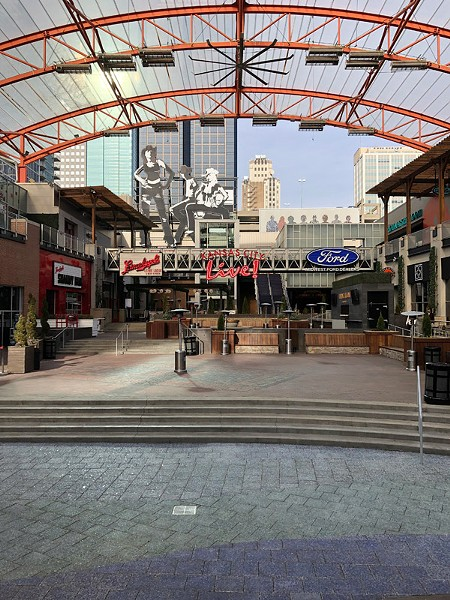 Kansas City Live!, a downtown entertainment venue, hosts more than 50 concerts and other events a year. - PHOTO BY STEVE CARTER