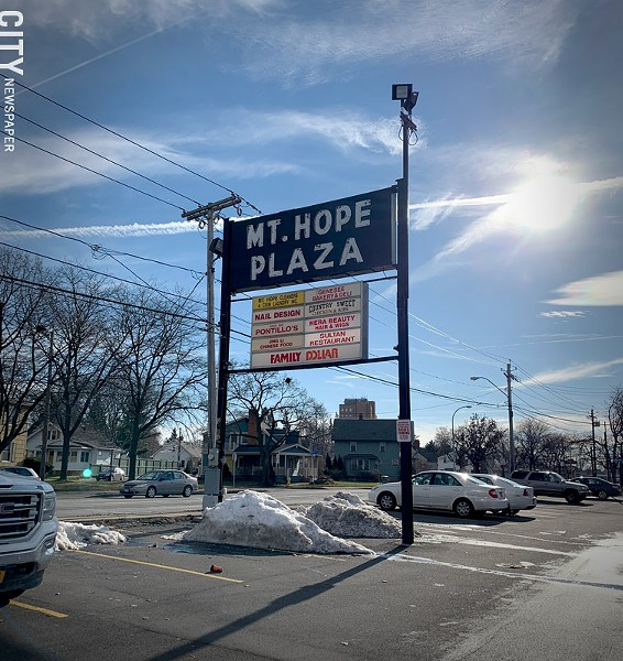 Mount Hope Plaza - PHOTO BY RYAN WILLIAMSON