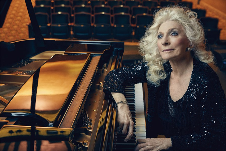Known for her iconic versions of songs by The Beatles, Joni Mitchell, Leonard Cohen, Stephen Sondheim, and others, Judy Collins will perform in Rochester on March 9. - PHOTO PROVIDED