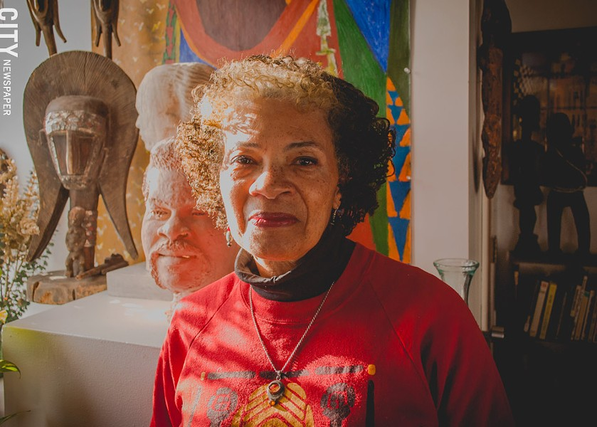 Terry Chaka, executive director at The Baobab Cultural Center. - PHOTO BY RYAN WILLIAMSON