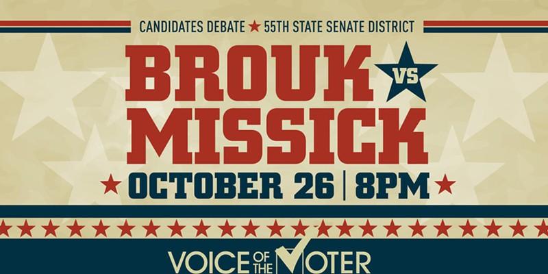 LIVESTREAM: Voice of the Voter Debate - 55th State Senate District