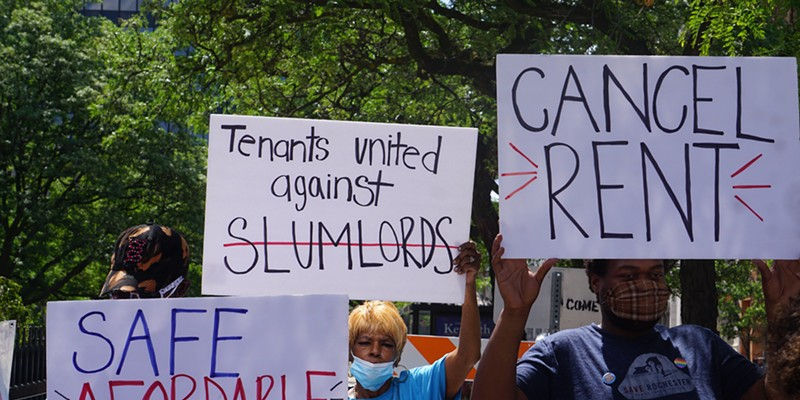 During the pandemic, activists and tenants have asked the state to provide stronger protections against eviction.