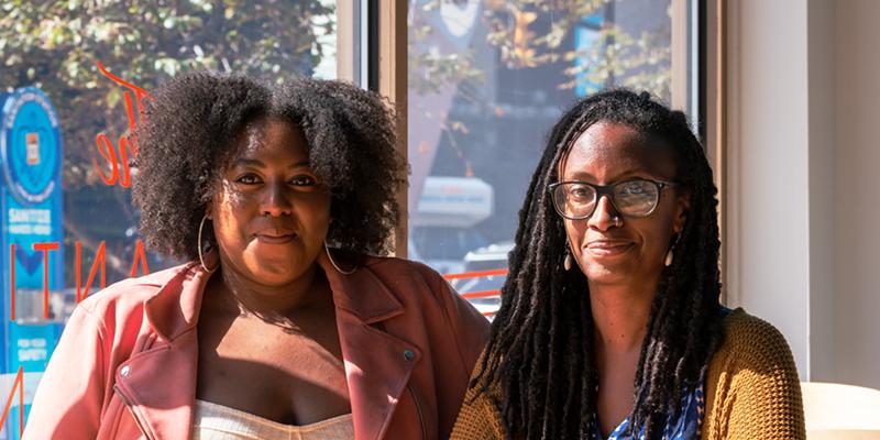 Black Pride co-directors Chanel Anita (left) and Shani Wilson.