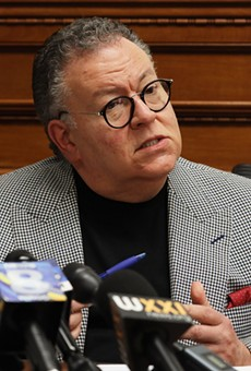 Legislature President Joe Carbone, Republican from Irondequoit speaks to reporters on Thursday, November 14, 2019.