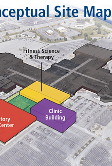 The Univeristy of Rochester Medical Center plans to open an orthopedic medicine center at The Marketplace Mall in Henrietta.