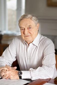 Billionaire philanthropist George Soros.