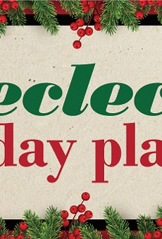 An eclectic holiday music playlist