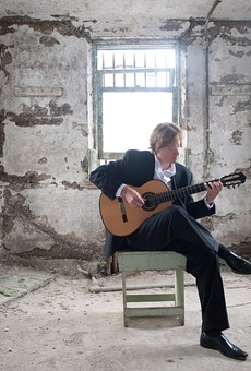 Jason Vieaux was once an aspiring student taking lessons at Hochstein School of Music. He returns on March 21 to perform there as one of the preeminent classical guitarists working today.