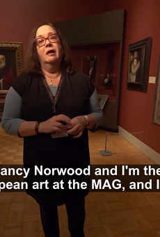 One example of expanded accessibility to the arts: Before the Memorial Art Gallery closed, curators created videos about their favorite exhibits and released them on social media.
