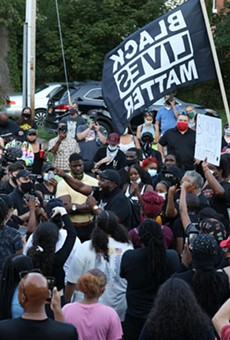 Black Lives Matter, clergy and politicians clashed on Thursday, Sept. 3, 2020, as protests over the death of Daniel Prude  continued.
