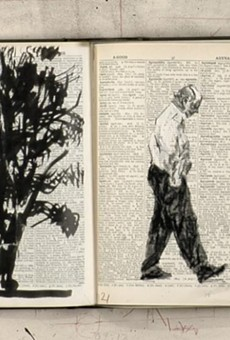 "A still from ""William Kentridge: Second-hand Reading."""