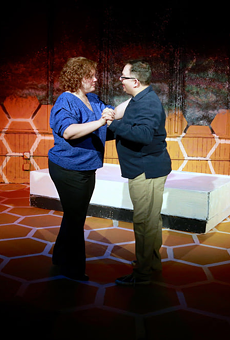 In 'Constellations,' one couple connects across many universes
