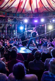 """Cirque du Fringe: D'Illusion"" was one of the 2019 Fringe-curated shows."